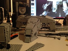 More REX WIP shots (Retroshark) Tags: metal big lego military gear scifi mech solid moc uploaded:by=flickrmobile flickriosapp:filter=nofilter