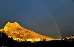 Al final (Enllasez - Enric LLaó) Tags: arcoiris rainbow cel cielo altea 2014 arcdesantmartí