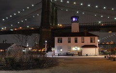 Brooklyn Ice Cream Factory (Six Sigma Man (Thanks for the 2.1 Million views)) Tags: brooklyn night timeexposure brooklynbridge brooklynicecreamfactory