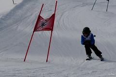 A l'arrive (La Pom ) Tags: ski competition coeur stade slalom combloux fleche creve descente megve jaillet rodhos
