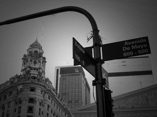 Avenida de Mayo, Buenos Aires, Argentine