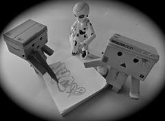First rough drawing!  (Damien Saint-) Tags: toy japanese amazon von vinyl pepsi fireball yotsuba flgel danbo drossel calbee amazoncojp revoltech danboard figma