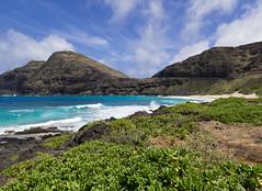 (lkaloti) Tags: blue green clouds photography hawaii day waves cloudy oahu honolulu lightroom makapuulighthouse makapuubeach canon6d