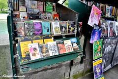 Bookinists in Paris (Eleanna K. Melissa) Tags: paris france seine river europe oldbooks       bookinists