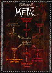 Metal Info-graph Poster (neilthebeast95) Tags: metal infograph