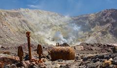 Corroding Steel (Doc. Di0) Tags: new newzealand white toxic danger canon island volcano smoke adventure explore zealand crater active fume whiteisland activevolcano canon5dmk3 5dmk3