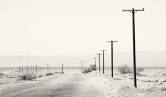 salton sea : niland marina road (William Dunigan) Tags: california road sea sky white lake black hot lines weather rural marina landscape photography town nikon power desert ghost william clear southern valley heat imperial minimalism d800 salton niland dunigan