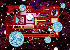 DIGIDOODLES - KOSMIC KIRBY KIRCUIT (zero g) Tags: abstract art artwork graphic space gimp australia melbourne victoria planets mspaint robjan wormhole circuit cosmic robertjan interplanetary oojah oojahkappivvy oojakapiv oojahcapivvy