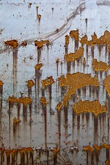 Nucléosynthèse primordiale (Gerard Hermand) Tags: 1408298566 gerardhermand france paris eos5dmarkii metal plaque rouille rust sheet canon