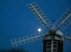 Moonrise at Holgate Windmill (2)