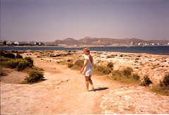 Rhodes 1986 (vintage ladies) Tags: woman holiday beauty lady seaside 80s blonde wife lovely rhodes 80slady 80swoman