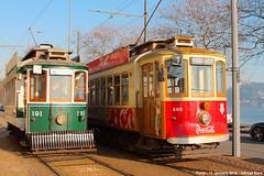 Sobreiras (ernstkers) Tags: portugal trolley tram porto stcp streetcar brill 191 205 bonde tranvia elctrico tramvia strasenbahn stcp205 stcp191