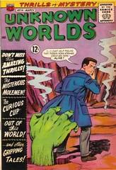 Unknown Worlds 14 (Michael Vance1) Tags: sf art comics artist aliens adventure comicbooks ghosts sciencefiction supernatural cartoonist anthology suspense silverage