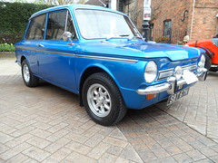 Stratford Festival Of Motoring. 1st May 2016 (ukdaykev) Tags: classic car classiccar may retro vehicle british imp hillman stratford stratforduponavon midlands motoring rootes hillmanimp 2016 minilites classictransport sbt67n