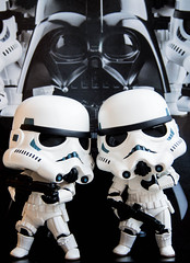 May The Force Be With You (buttiesqueak) Tags: starwars olympus darthvader maytheforcebewithyou stormtroppers maythe4thbewithyou goodsmilecompany nendoroid olympusem5