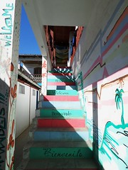 320 - Welcome (AnouchkA_) Tags: travel brazil riodejaneiro paraty painting stair colorfull painted staircase welcome escalier multicolor 320 brsil color anouchka multicolore wonderfulworld