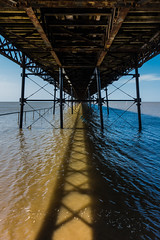 A hot sunny day under Southport Pier (tabulator_1) Tags: southport southportpier