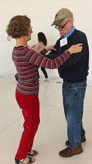 (sfrikken) Tags: senior sarah paul for dance exercise library group central center falls madison ballroom occupational balance irene therapy fitness prevention basics waltz physical