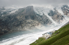 The house along the glacier (DRoofing163) Tags: house mountains alps austria glacier grossglockner heiligenblut