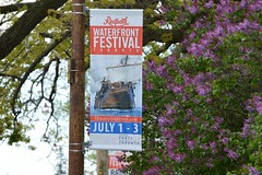 Mark Your Calender's .... Tall Ships Return To The Great Lakes (Greg's Southern Ontario (catching Up Slowly)) Tags: toronto sign greatlakes tallships lightpolebanner streetlightbanner redpathwaterfrontfestivaltoronto
