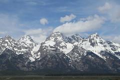 Grand Teton National Park (cbmtax) Tags: travel snow clouds nationalpark spring wyoming grandteton