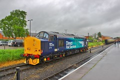 Direct Rail Services 37716 - Kidderminster Town (South West Transport News) Tags: town diesel rail railway severn valley gala services direct kidderminster 2016 37716