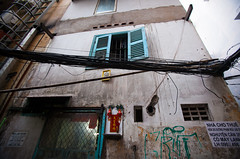 50:50 (G.omez) Tags: street travel window colors asia streetphotography vietnam saigon