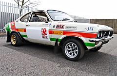 Vauxhall Fierenza (Lazenby43) Tags: rally firenza viva v8 vauxhall donington
