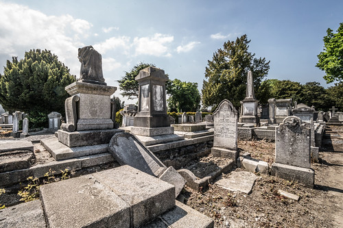 MOUNT JEROME CEMETERY AND CREMATORIUM IN HAROLD'S CROSS [SONY A7RM2 WITH VOIGTLANDER 15mm LENS]-117072
