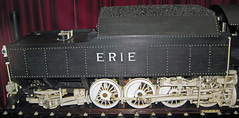Erie Railroad # 2603 steam locomotive - ebony and ivory carving 3 (James St. John) Tags: wood railroad ohio museum train carved engine ivory trains carving steam locomotive erie ebony tender dover 2603 warther warthers
