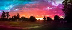 Magical Sunset (Tina Stadeli) Tags: sunset colors magical magicalcolors