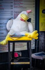 Big stuffed chicken (donnieking1811) Tags: memphis tennessee