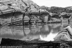 Svinafellsjkull lagoon reflection (b/w) (wanderingYew2 (thanks for 3M+ views!)) Tags: blackandwhite reflection iceland nationalpark vatnajkull glaciallagoon vatnajkullglacier svnafellsjkull svnafellsjkullglacier vatnajkulsjgarur vatnajkullnationalpark fujixpro2