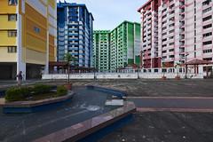 Rochor Centre DSC2532 (KWsideB) Tags: city urban architecture facade buildings singapore apartments landmark flats housing blocks hdb publichousing dwelling voiddeck cityliving rochorcentre rochorroad housinganddevelopmentboard 1rochorroad urbsanscape