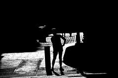 Dancing !!!!! (imagejoe) Tags: street vegas people white black reflections photography nikon shadows photos nevada strip