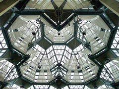 Ceiling, National Gallery of Canada (duaneschermerhorn) Tags: light sky ontario canada art museum architecture modern design gallery pattern contemporary interior ottawa angles ceiling architect modernarchitecture moshesafdie safdie contemporaryarchitecture