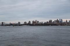 Staten Island Ferry (GPhace) Tags: nyc newyorkcity sunset ferry skyline brooklyn skyscraper canon evening spring cityscape cloudy brooklynheights wtc statenislandferry newyorkharbor freedomtower portofnewyorknewjersey 5dmiii