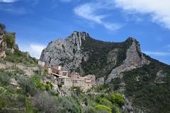 Abella (tmcull) Tags: old sky mountain mountains rock de landscape outdoors la spain rocks hill catalonia spanish geology pyrenees conca carbonate cretaceous abella boixols