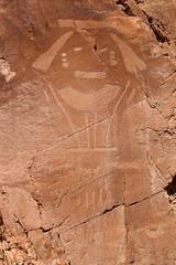 HUman Petroglyph (jpmckenna - Denali Bound) Tags: utah petroglyph dinosaurnationalmonument rockart getoutside utahhiking fremontculture vernalclassicstyle