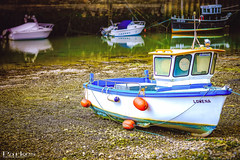 Fishing Boat (craigparkes09) Tags: ocean old uk light shadow england brown sun colour detail art beach nature water beautiful beauty stone river landscape photography boat fishing sand rocks cornwall view natural emotion stonework sony great dramatic style impact stunning drama a6000 sonya6000