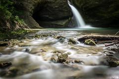 Tobel II (Mopple Labalaine) Tags: wood water creek forest river landscape switzerland waterfall woods stream wasserfall zurich bach zrich watercourse winterthur tsstal tobel rikon ehrikon