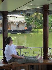 On Board Houseboat, Kumarakom (Aidan McRae Thomson) Tags: india boat houseboat kerala kumarakom