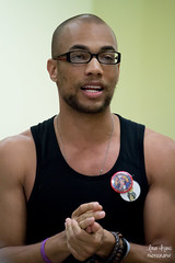 Kendrick Sampson (linadollyy) Tags: family light portrait people music white celebrity art love me movie golden peace politics historic solidarity mtv actress actor bernie speech feminist activist woodley kendrick divergent womensright berniesanders shailene shailenewoodley vampirediaries thefaultinourstars kendricksampson howtogetawaywithmurder