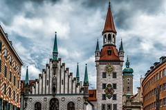 Munich 2 (AaronP65 - A sincere thnx for over 1 million views) Tags: germany munich mnchen bayern deutschland bavaria oldcityhall altesrathaus