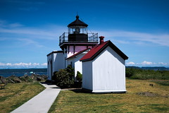 Lighthouse (elizabethcrawfordphotography) Tags: seattle lighthouse beach photography photo washington nikon photographer like photograph pnw pointnopoint d5300