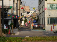 Side street in central Seoul!