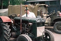 Checking the Levels (the.photo.joe) Tags: digital film 35mm argus canon nikon leica war worldwar2 great central railway jeep sten train 1940s kodak forrdson tractor