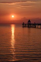 Clevedon Sunset (Mark O'Grady // Photography) Tags: clevedon pier shimmer castle sky