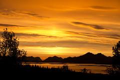Solnedgang sett fra Bergvikmarka. (2BB1 Media) Tags: sunset solnedgang b hadsel sommerkveld bivesterlen bergvikmarka