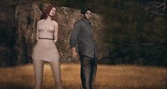 Photographers at Work (Tripp Nitely) Tags: portrait couple outdoor candid working secondlife gatesofmelancholy